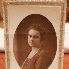 Fotografía antigua: ANTIGUA FOTOGRAFIA MATRAN AGUILAS Y CARTAGENA MURCIA 1927. Lote 191227306