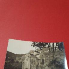 Fotografía antigua: OVIEDO.SAN MIGUEL DE LILLO. CIRCULADA.1958.. Lote 191441370