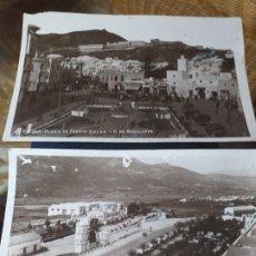 Fotografía antigua: DOS TARJETAS POSTALES DE TETUAN. . Lote 191488245