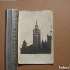 Fotografía antigua: SEVILLA LA GUIRALDA. Lote 191673268