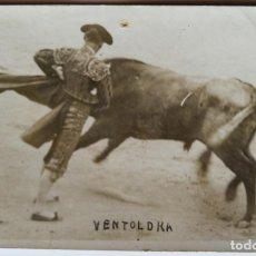 Fotografia antica: TORERO EUGENIO VENTOLDRA. Lote 192066621