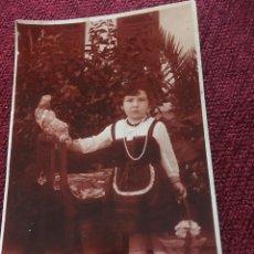 Fotografía antigua: ANTIGUA FOTOGRAFIA - TARJETA POSTAL - A COLOR - UNION UNIVERSAL DE CORREOS - 8.4X13.5CM. Lote 192375566