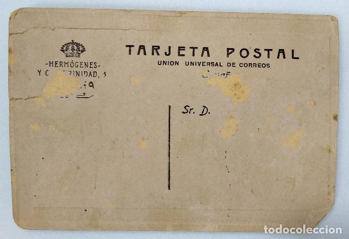 Fotografía antigua: Hermógenes y Compañía - Calle Trinidad 5. Villena. Alicante. 14 x 9,5 cm. - Foto 2 - 192671148