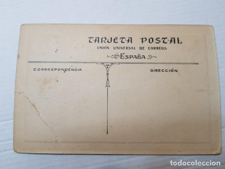 Fotografía antigua: Fotografía postal antigua Niña en Pupitre años 20 - Foto 2 - 193404546