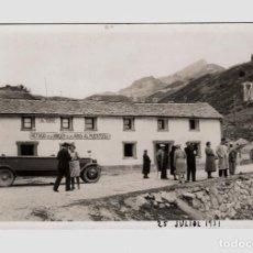 Fotografía antigua: HUESCA - REFUGIO VIRGEN DE LAS ARAS. 25 JULIO 1931. POSTAL FOTOGRÁFICA. Lote 193797206