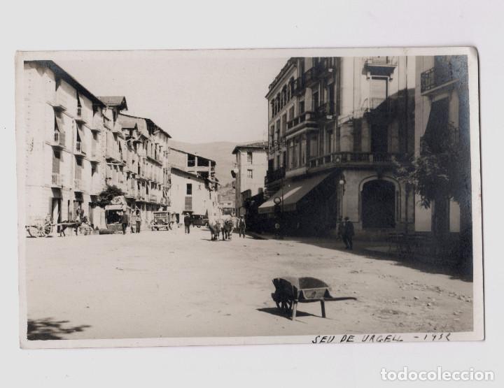 SEU D'URGELL - AÑO 1932. (Fotografía Antigua - Tarjeta Postal)