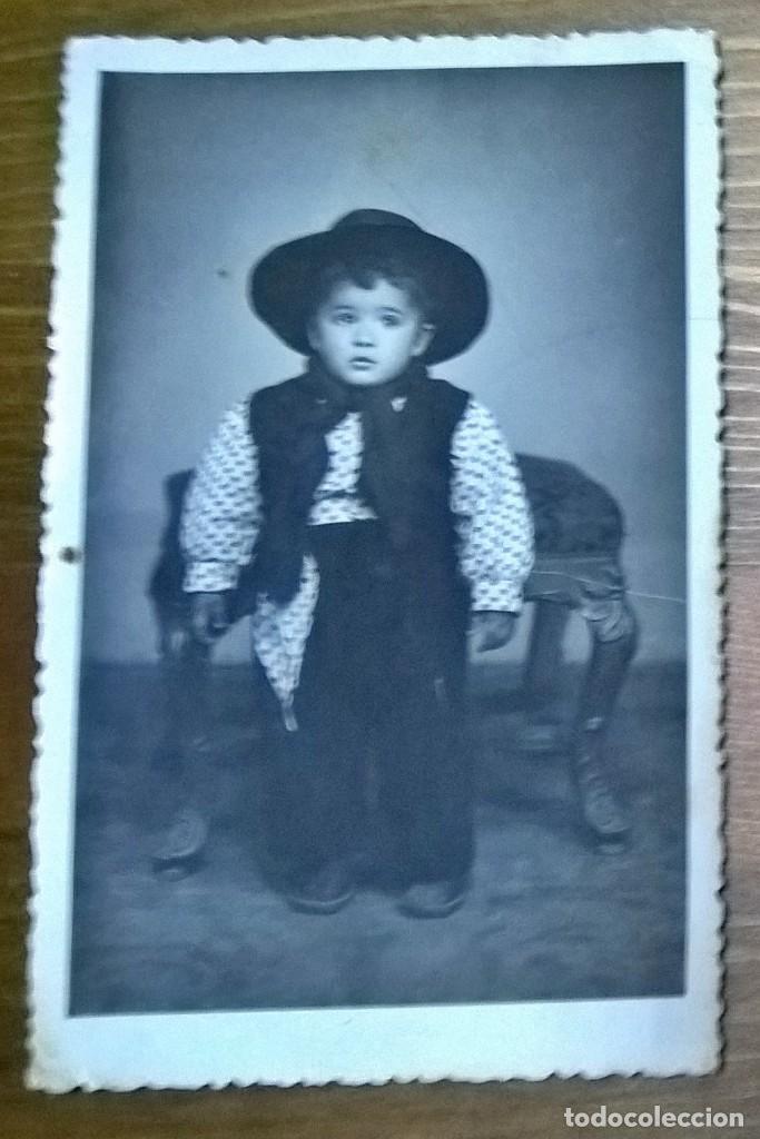 FOTO 1955 ESCRITA (Fotografía Antigua - Tarjeta Postal)