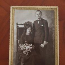 Fotografía antigua: ANTIGUA FOTOGRAFIA MATRAN CARTAGENA Y AGUILAS MURCIA 1932. Lote 194203763