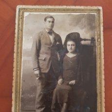 Fotografía antigua: ANTIGUA FOTOGRAFIA MATRAN CARTAGENA Y AGUULAS MURCIA 1932. Lote 194203813