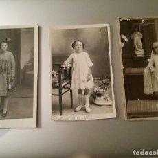 Fotografía antigua: 6 POSTALES FOTOGRÁFICAS AÑOS 30. Lote 194228362
