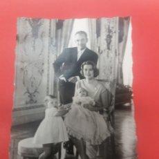 Fotografía antigua: POSTAL EL PRINCIPE RAINIERO Y LA PRINCESA GRACE DE MONACO. Lote 194244292