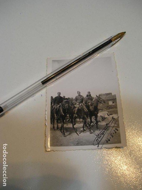 Fotografía antigua: LOTE FOTO FOTOGRAFIAS LOTE DE 2 POST GUERRA CIVIL ,GRUPO SANIDAD MILITAR COMPAÑIA MIXTA - Foto 3 - 194252063