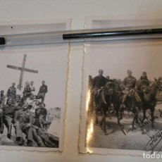 Fotografía antigua: LOTE FOTO FOTOGRAFIAS LOTE DE 2 POST GUERRA CIVIL ,GRUPO SANIDAD MILITAR COMPAÑIA MIXTA . Lote 194252063