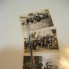 Fotografía antigua: LOTE FOTO FOTOGRAFIA COCHES ANTIGUOS LOTE DE 3 FOTOS (20). Lote 194252173