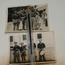 Fotografía antigua: LOTE FOTO FOTOGRAFIA LOTE DE 3 MUSICOS AÑOS 40 (20). Lote 194252277