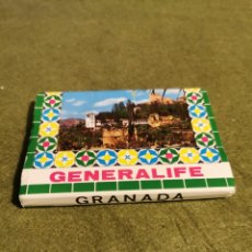 Fotografía antigua: LOTE DE 14 POSTALES DE GRANADA GENERALIFE. Lote 194511856
