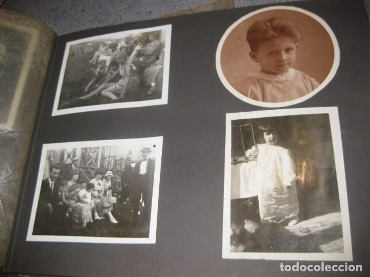 Fotografía antigua: album familiar + 300 fotografias fotos años 20 - 30 felices años 20 cataluña premia de mar precioso - Foto 7 - 194527303