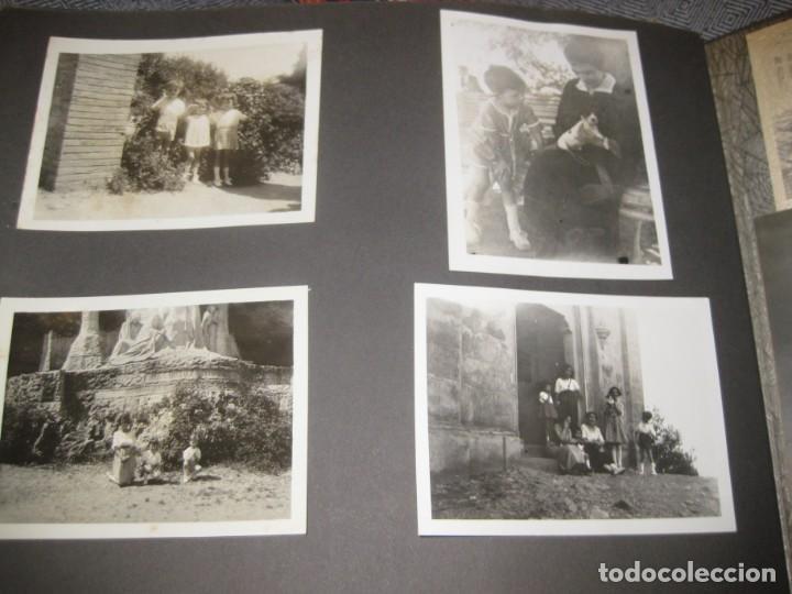 Fotografía antigua: album familiar + 300 fotografias fotos años 20 - 30 felices años 20 cataluña premia de mar precioso - Foto 8 - 194527303