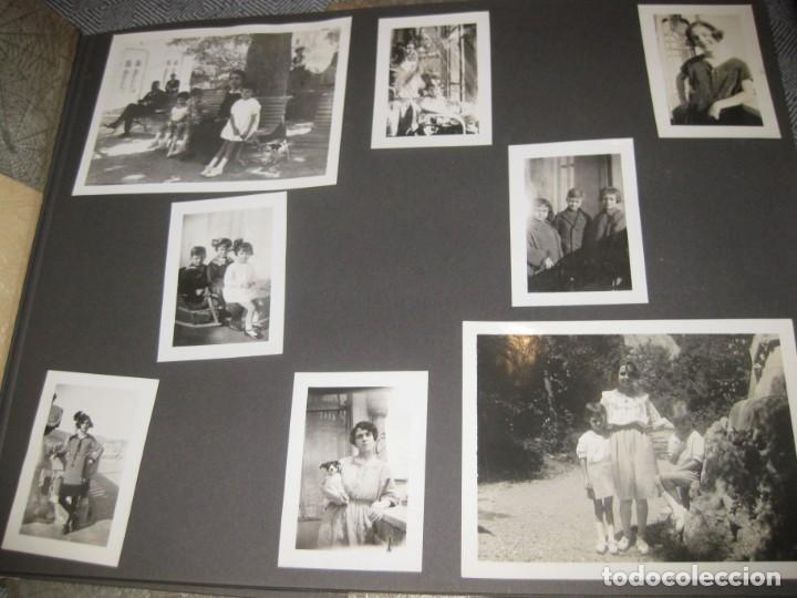 Fotografía antigua: album familiar + 300 fotografias fotos años 20 - 30 felices años 20 cataluña premia de mar precioso - Foto 10 - 194527303