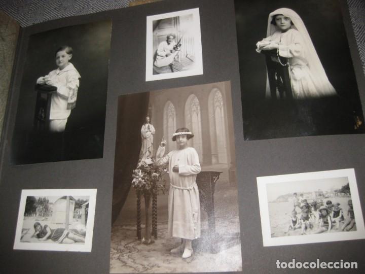 Fotografía antigua: album familiar + 300 fotografias fotos años 20 - 30 felices años 20 cataluña premia de mar precioso - Foto 12 - 194527303