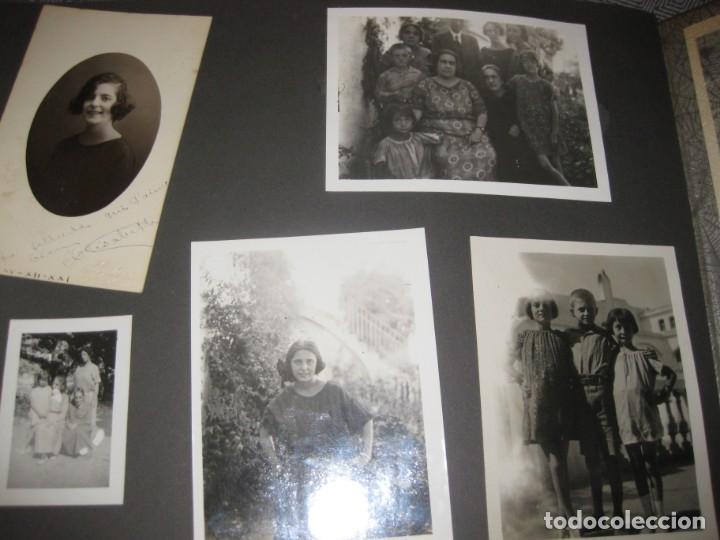 Fotografía antigua: album familiar + 300 fotografias fotos años 20 - 30 felices años 20 cataluña premia de mar precioso - Foto 13 - 194527303