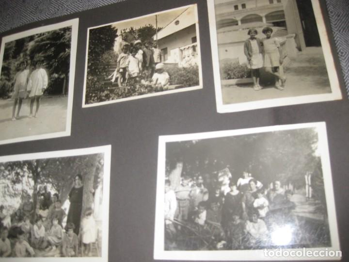 Fotografía antigua: album familiar + 300 fotografias fotos años 20 - 30 felices años 20 cataluña premia de mar precioso - Foto 14 - 194527303