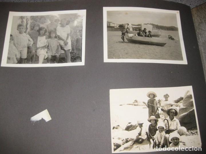 Fotografía antigua: album familiar + 300 fotografias fotos años 20 - 30 felices años 20 cataluña premia de mar precioso - Foto 15 - 194527303