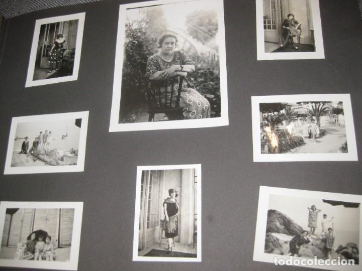 Fotografía antigua: album familiar + 300 fotografias fotos años 20 - 30 felices años 20 cataluña premia de mar precioso - Foto 16 - 194527303
