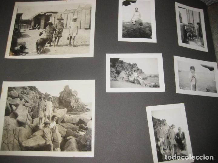 Fotografía antigua: album familiar + 300 fotografias fotos años 20 - 30 felices años 20 cataluña premia de mar precioso - Foto 17 - 194527303