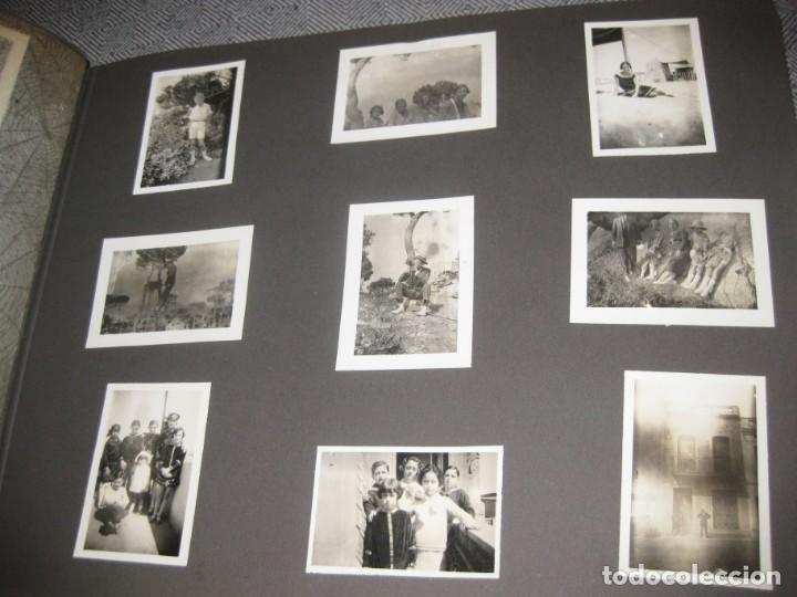 Fotografía antigua: album familiar + 300 fotografias fotos años 20 - 30 felices años 20 cataluña premia de mar precioso - Foto 21 - 194527303