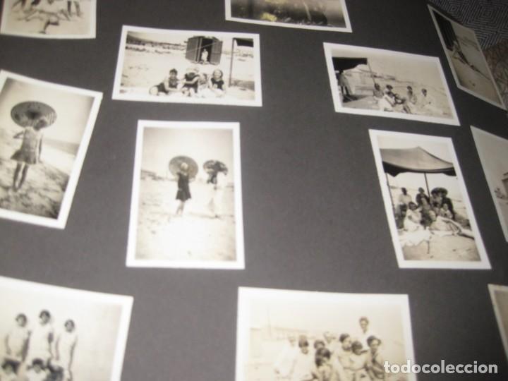 Fotografía antigua: album familiar + 300 fotografias fotos años 20 - 30 felices años 20 cataluña premia de mar precioso - Foto 22 - 194527303