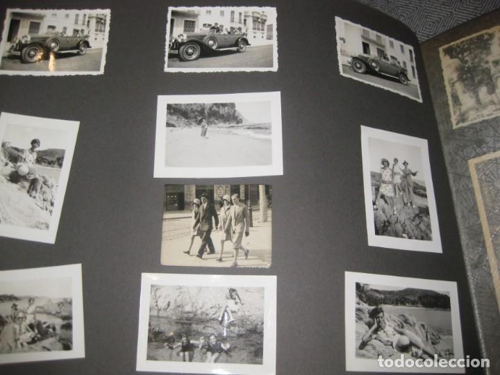 Fotografía antigua: album familiar + 300 fotografias fotos años 20 - 30 felices años 20 cataluña premia de mar precioso - Foto 24 - 194527303