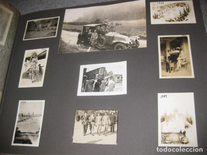 Fotografía antigua: album familiar + 300 fotografias fotos años 20 - 30 felices años 20 cataluña premia de mar precioso - Foto 27 - 194527303