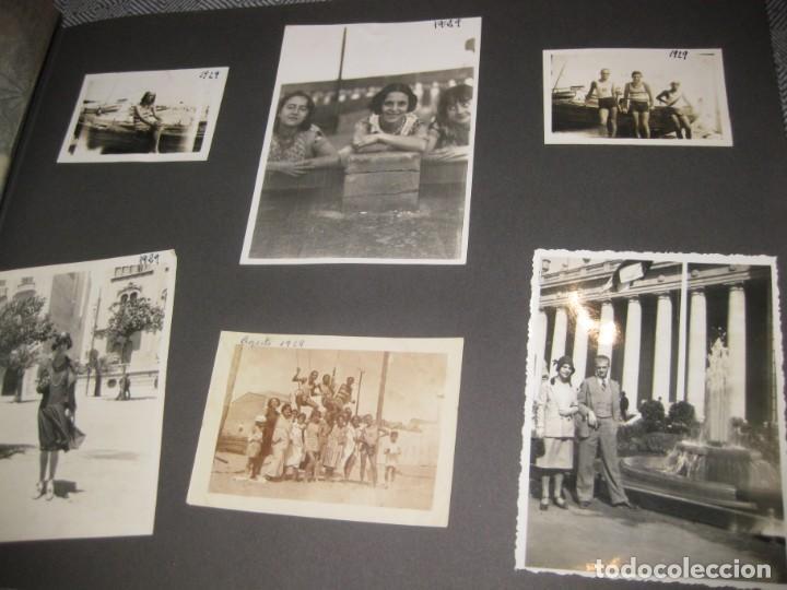 Fotografía antigua: album familiar + 300 fotografias fotos años 20 - 30 felices años 20 cataluña premia de mar precioso - Foto 29 - 194527303