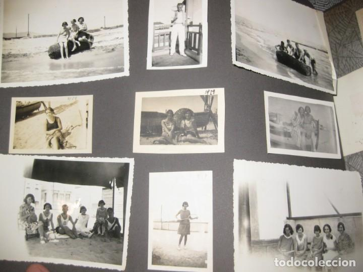Fotografía antigua: album familiar + 300 fotografias fotos años 20 - 30 felices años 20 cataluña premia de mar precioso - Foto 30 - 194527303