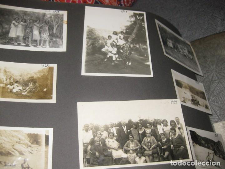 Fotografía antigua: album familiar + 300 fotografias fotos años 20 - 30 felices años 20 cataluña premia de mar precioso - Foto 32 - 194527303