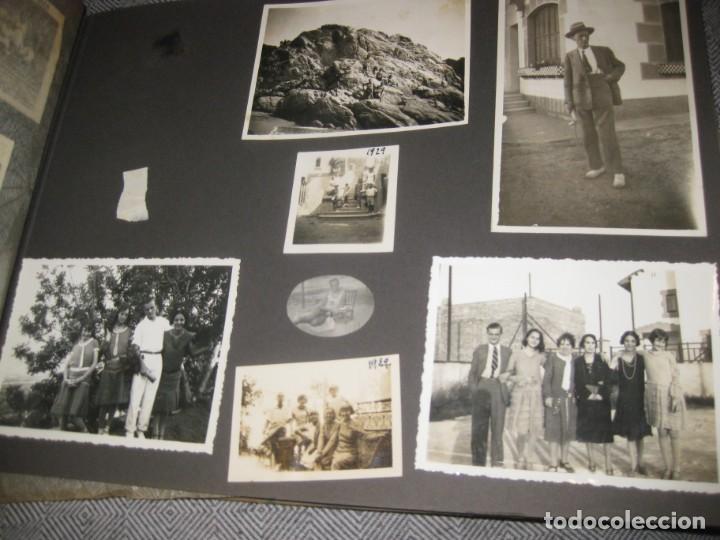 Fotografía antigua: album familiar + 300 fotografias fotos años 20 - 30 felices años 20 cataluña premia de mar precioso - Foto 33 - 194527303