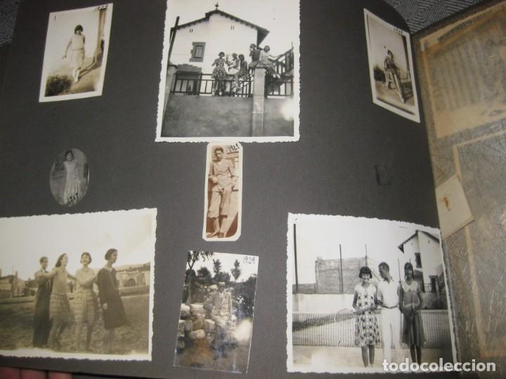 Fotografía antigua: album familiar + 300 fotografias fotos años 20 - 30 felices años 20 cataluña premia de mar precioso - Foto 34 - 194527303