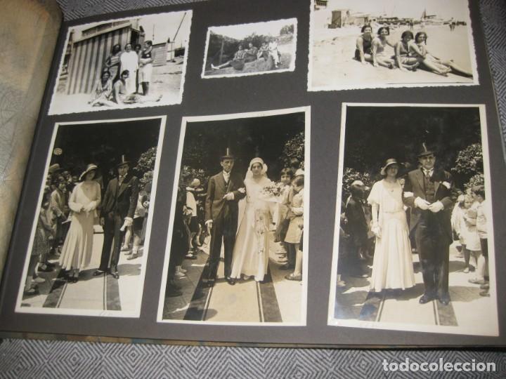 Fotografía antigua: album familiar + 300 fotografias fotos años 20 - 30 felices años 20 cataluña premia de mar precioso - Foto 35 - 194527303