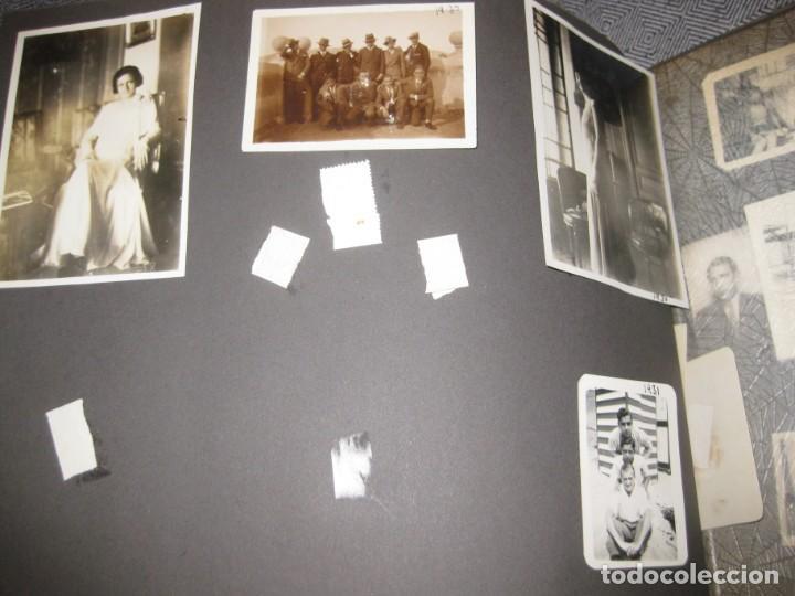 Fotografía antigua: album familiar + 300 fotografias fotos años 20 - 30 felices años 20 cataluña premia de mar precioso - Foto 40 - 194527303