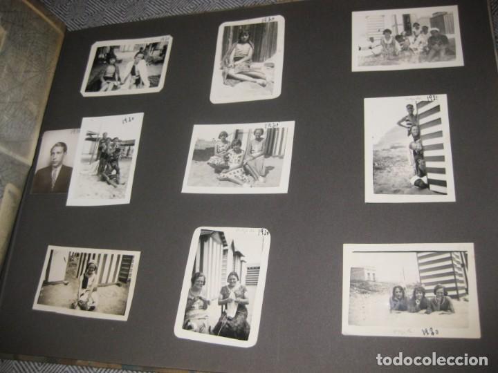 Fotografía antigua: album familiar + 300 fotografias fotos años 20 - 30 felices años 20 cataluña premia de mar precioso - Foto 41 - 194527303