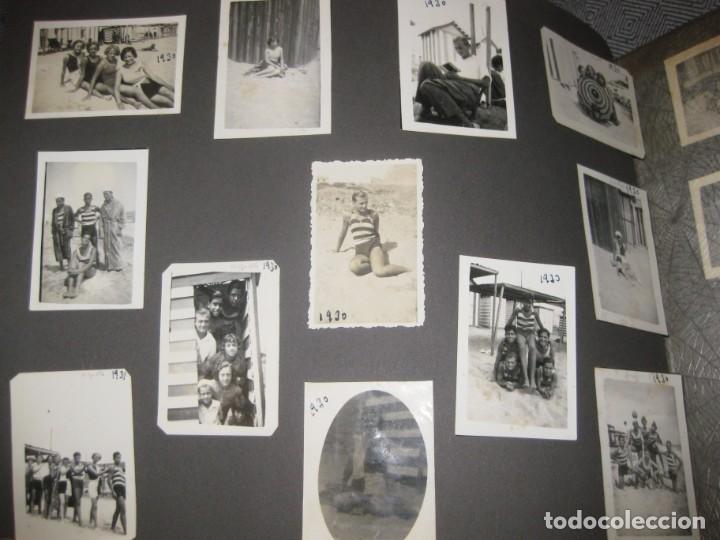 Fotografía antigua: album familiar + 300 fotografias fotos años 20 - 30 felices años 20 cataluña premia de mar precioso - Foto 42 - 194527303