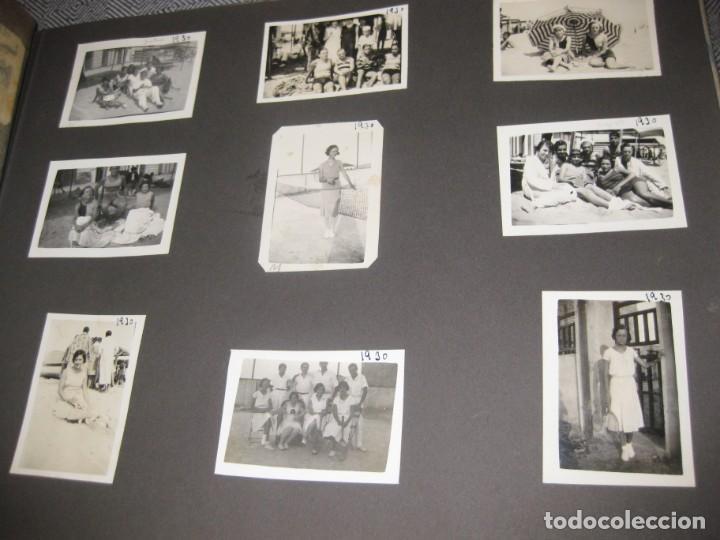 Fotografía antigua: album familiar + 300 fotografias fotos años 20 - 30 felices años 20 cataluña premia de mar precioso - Foto 43 - 194527303