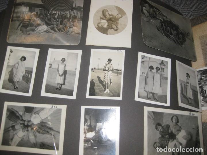 Fotografía antigua: album familiar + 300 fotografias fotos años 20 - 30 felices años 20 cataluña premia de mar precioso - Foto 44 - 194527303