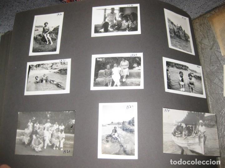 Fotografía antigua: album familiar + 300 fotografias fotos años 20 - 30 felices años 20 cataluña premia de mar precioso - Foto 45 - 194527303