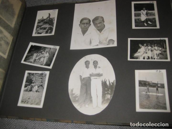 Fotografía antigua: album familiar + 300 fotografias fotos años 20 - 30 felices años 20 cataluña premia de mar precioso - Foto 46 - 194527303