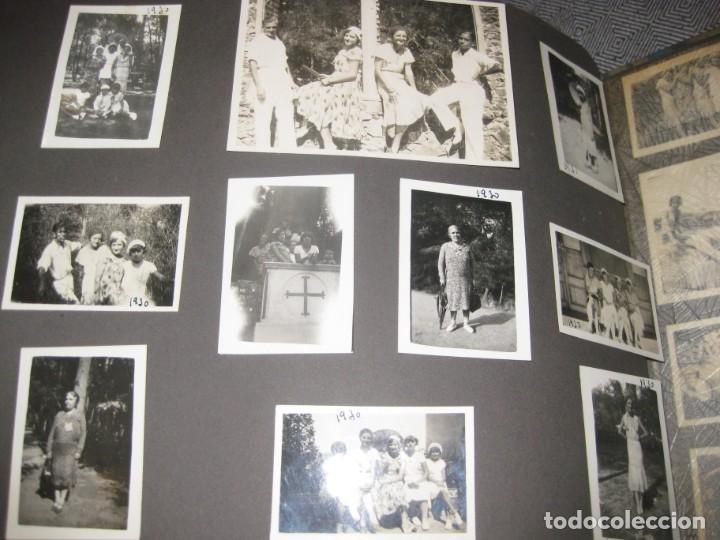 Fotografía antigua: album familiar + 300 fotografias fotos años 20 - 30 felices años 20 cataluña premia de mar precioso - Foto 47 - 194527303