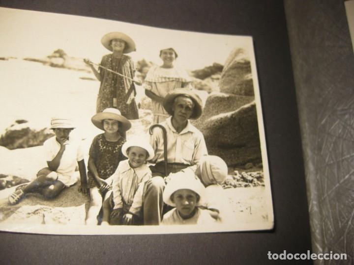 Fotografía antigua: album familiar + 300 fotografias fotos años 20 - 30 felices años 20 cataluña premia de mar precioso - Foto 54 - 194527303