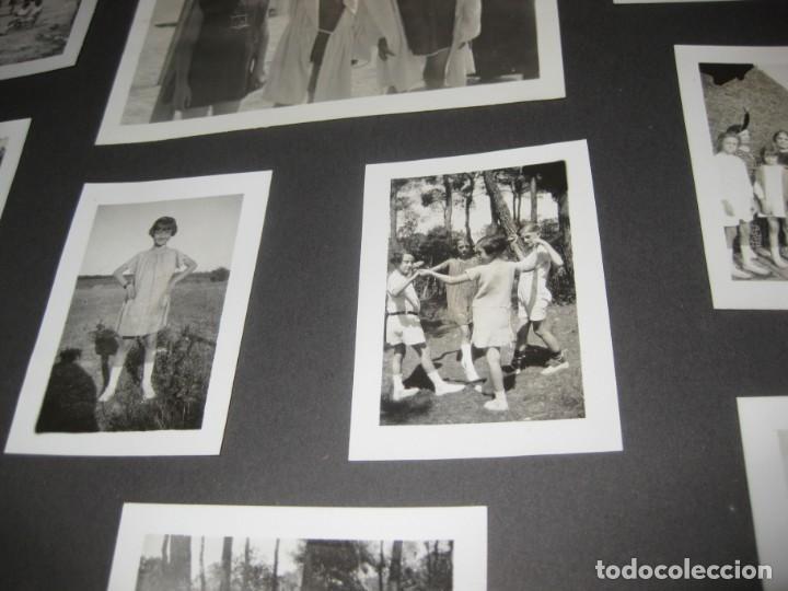 Fotografía antigua: album familiar + 300 fotografias fotos años 20 - 30 felices años 20 cataluña premia de mar precioso - Foto 56 - 194527303