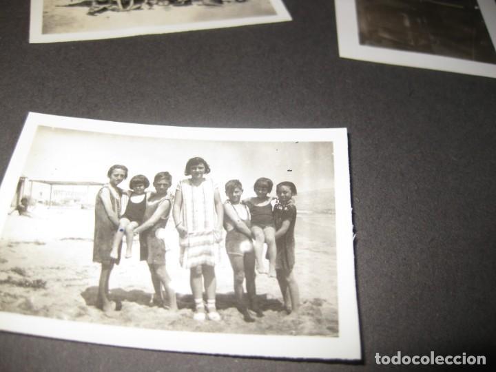 Fotografía antigua: album familiar + 300 fotografias fotos años 20 - 30 felices años 20 cataluña premia de mar precioso - Foto 58 - 194527303